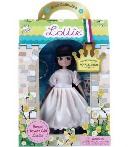 Lottie Doll - Royal Flower Girl